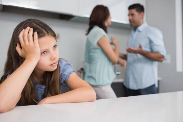 Partnerske svađe pred decom